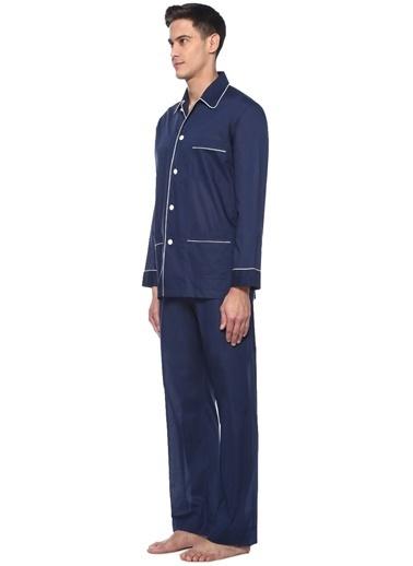 Derek Rose Pijama Takım Lacivert